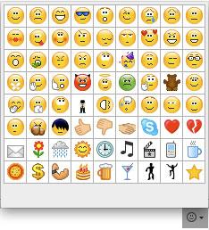 Emoticons in Skype sollen Gefühle zeigen