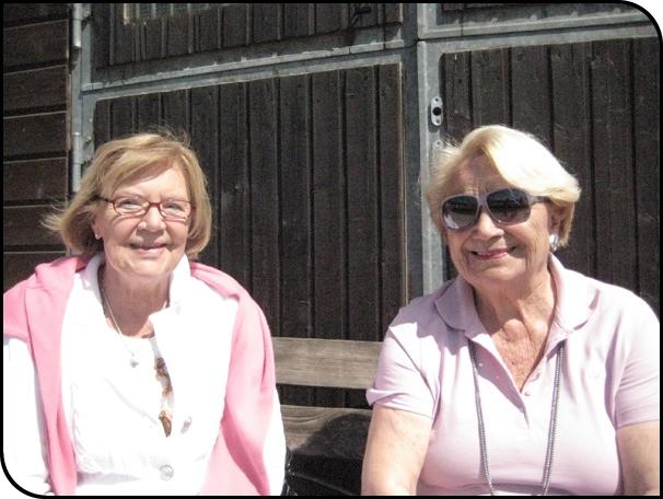 Die zwei Damen bei der Fichtenhof Challenge