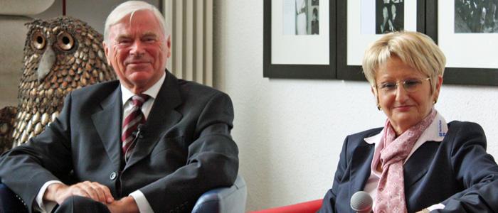 Prof. Dr. Werner Meißner, Gerda Meinl-Kexel (Quelle: Seebach)