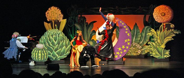 Spaß auf der Bühne und in den Rängen (Quelle: Seebach)