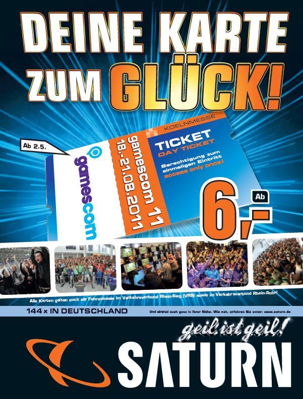 Wer dabei sein will, kann sich die heiß begehrten Tickets ab sofort im Saturn Bad Homburg sichern.