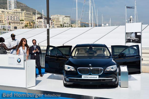 BMW bei der Monaco Yacht Show 01