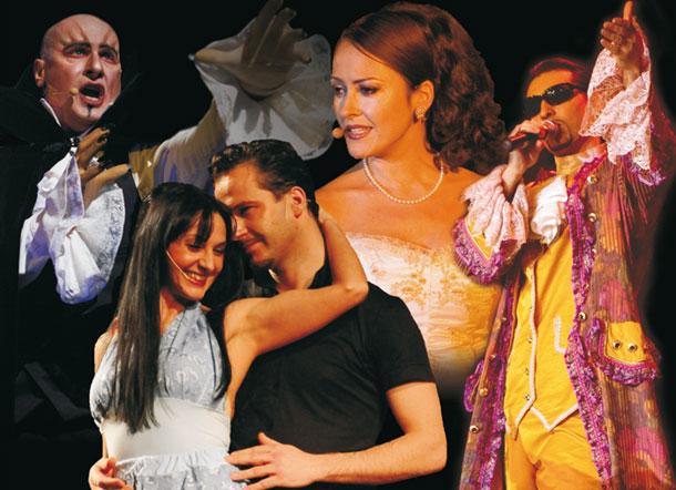 Die Nacht der Musicals Collage