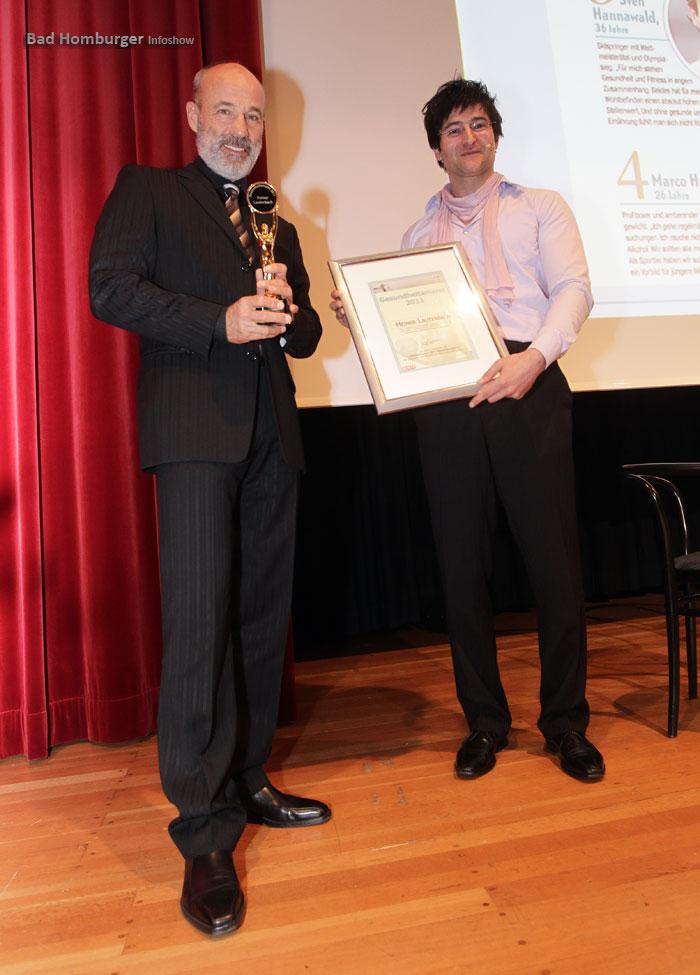 Heiner Lauterbach und Prof. Frank Sommer in Bad Homburg
