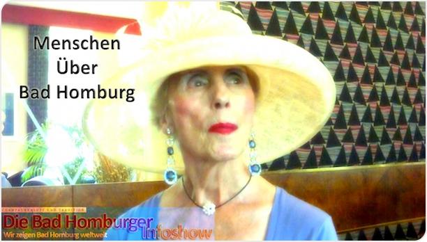 Neues Video: V024 Mit der Zeit gehend - Menschen Über Bad Homburg