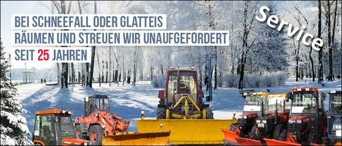 Titelbild für Firmenportrait Fleckenstein Schneeräumung - Winterdienst
