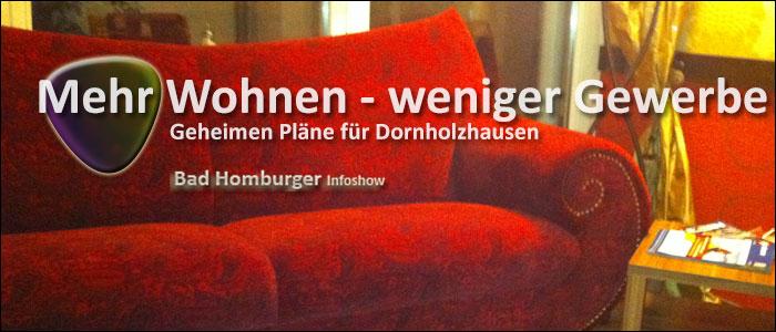 Titelbild: Mehr Wohnen - weniger Gewerbe in Dornholzhausen
