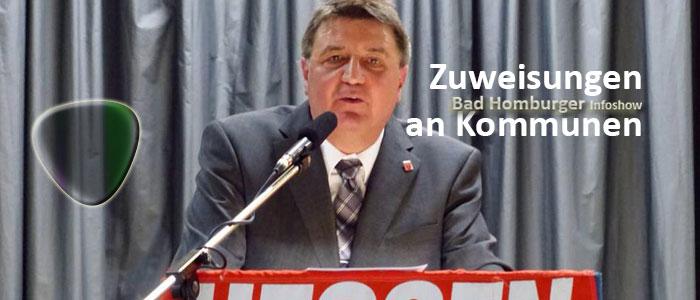 Titelbild: Taunus-Bürgermeister: Zuweisungen an Kommunen unter dem Niveau von 2008