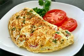 Omelette! Yummy.