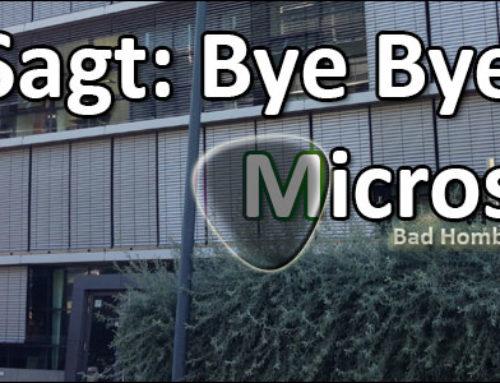 Nach Fujitsu Siemens verschwindet auch Microsoft aus Bad Homburg