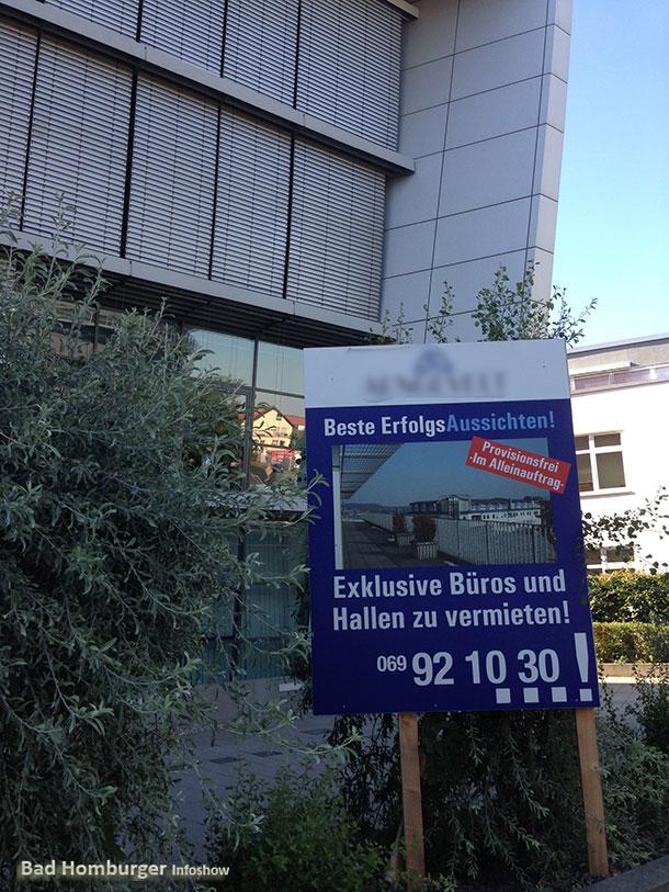 Frankfurter Makler versuchen Büroflächen von Microsoft zu vermarkten