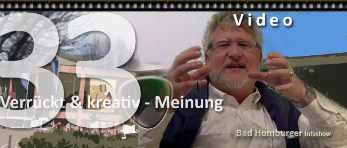 Titelbild zur 33. Videoepisode - Menschen über Bad Homburg it Dr. Hein Reuter