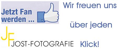 Jetzt auf Facebook von JOST-FOTOGRAFIEN Fan werden