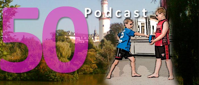 Titelbild zum 50. Podcast der BHIS!