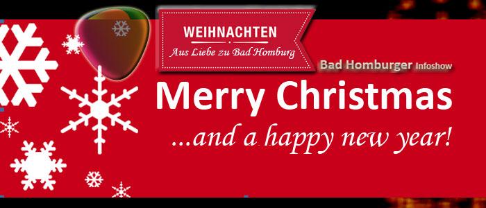 Weihnachts Teaser zu Weihnachten 2013 auf der BHIS! Bad Homburger Infoshow!