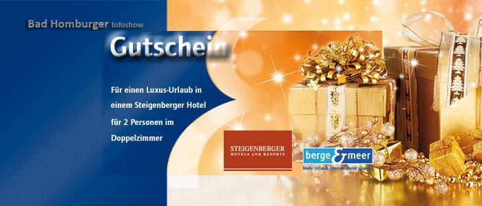 Teaser Steigenberger Hotel Gutschein