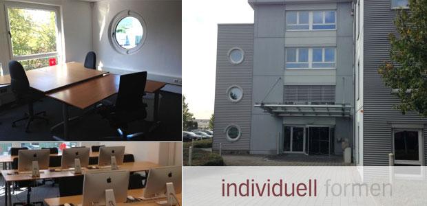 Umfeld Bürogemeinschaft bei der denkform GmbH in Hofheim