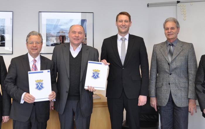 Vertrag über den Erwerb von Belegrechten unterzeichnet