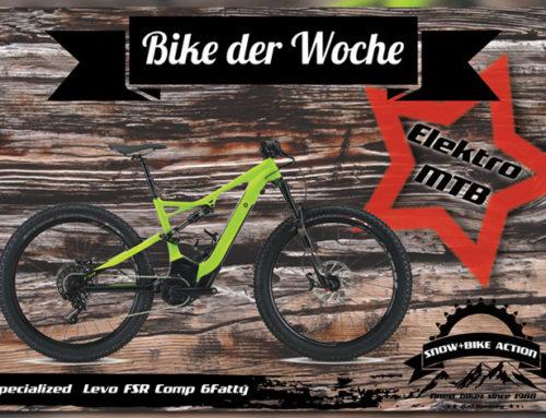 Angebot der Woche – Innovatives Mountainbike mit Elektroantrieb bei Snow+Bike Action