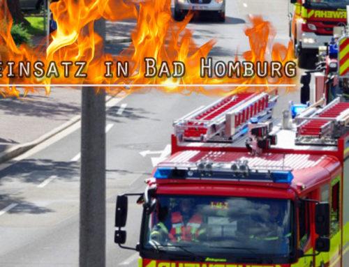 Brand in Asylunterkunft in Bad Homburg: Lob an Feuerwehr für schnellen Einsatz