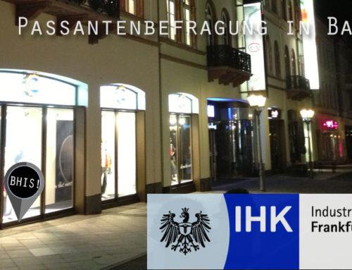 Passantenbefragung: Überdurchschnittliche Ergebnisse für Bad Homburg [Fotoshow]
