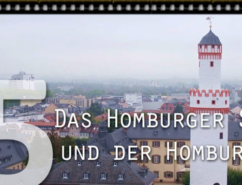 #V045 Das Homburger Schloss und der Homburg Hut von Ralf Mais
