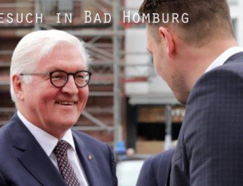 Bundespräsident Steinmeier verleiht Pro Musica und Zelter-Plakette in Bad Homburg