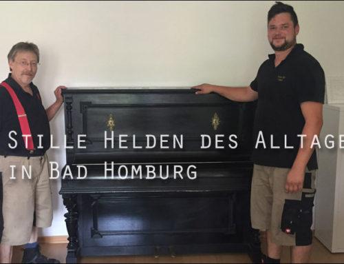 Stille Helden des Tages: Die Fachmänner für den Klaviertransport