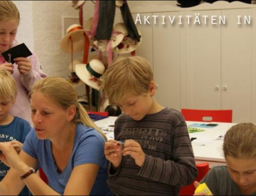 Familienworkshop für Schmuck, Accessoires, Taschen