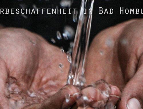 Änderung der Trinkwasserbeschaffenheit